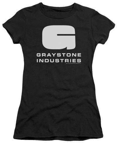 Juniors: Caprica-Graystone Industries Juniors (Slim) T-Shirt