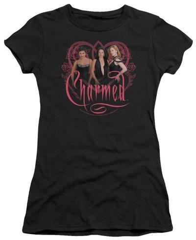 Juniors: Charmed - The Girls Womens T-Shirts