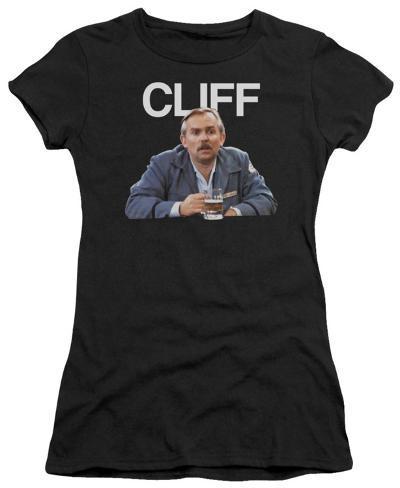 Juniors: Cheers - Cliff Womens T-Shirts
