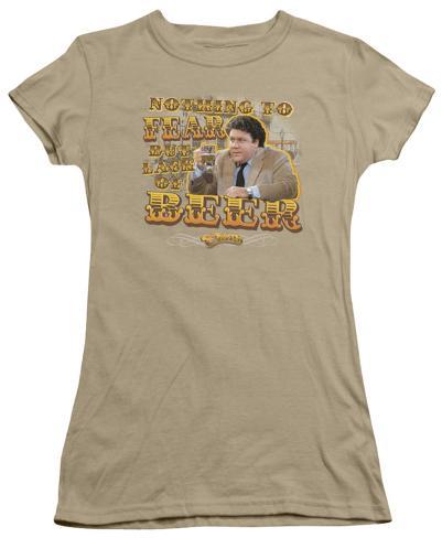 Juniors: Cheers-Fear Juniors (Slim) T-Shirt