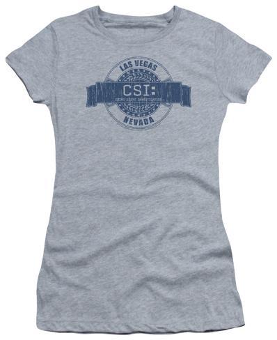 Juniors: CSI-Vegas Badge Womens T-Shirts