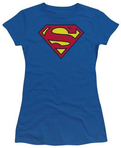 Juniors: DC Comics - S Shield Womens T-Shirts