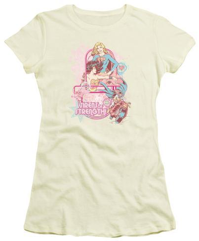 Juniors: DC Comics - Sirens of Strength Womens T-Shirts