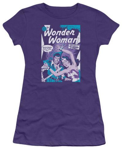 Juniors: DC-Human Shield Womens T-Shirts