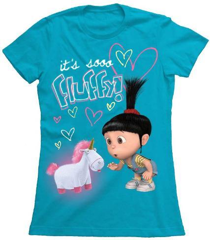 Juniors: Despicable Me - Fluffy T-Shirt