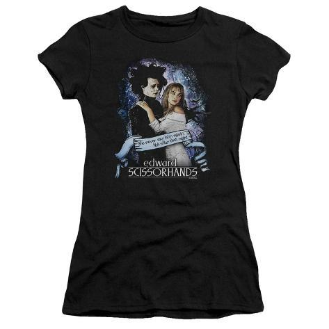 Juniors: Edward Scissorhands - That Night Womens T-Shirts