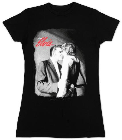 Juniors: Elvis - Love, Elvis Womens T-Shirts