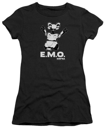 Juniors: Eureka-Emo Womens T-Shirts