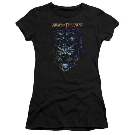 Juniors: Evil Ash Womens T-Shirts