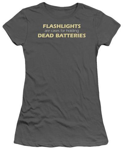 Juniors: Flashlights Juniors (Slim) T-Shirt