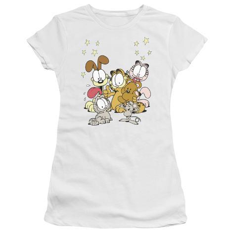 Juniors: Garfield-Friends Are Best Womens T-Shirts