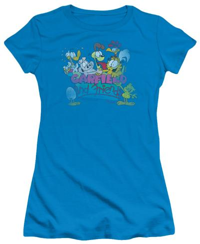 Juniors: Garfield-Garfield And Friends Womens T-Shirts
