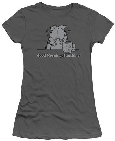 Juniors: Garfield - Good Morning, Sunshine Womens T-Shirts