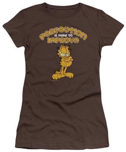 Juniors: Garfield - Perfect Juniors (Slim) T-Shirt