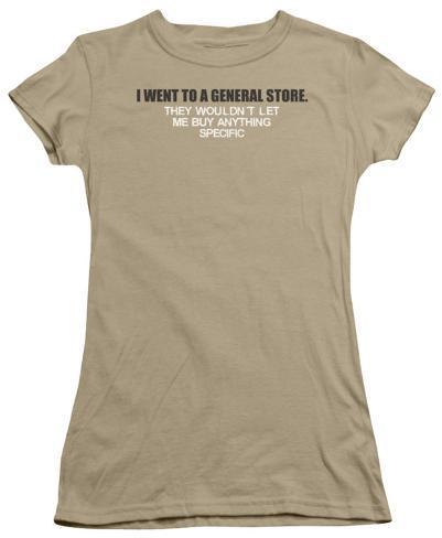Juniors: General Store Juniors (Slim) T-Shirt