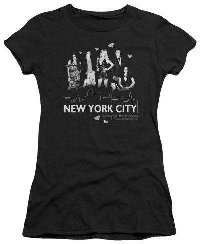 Juniors: Gossip Girl - NYC Juniors (Slim) T-Shirt