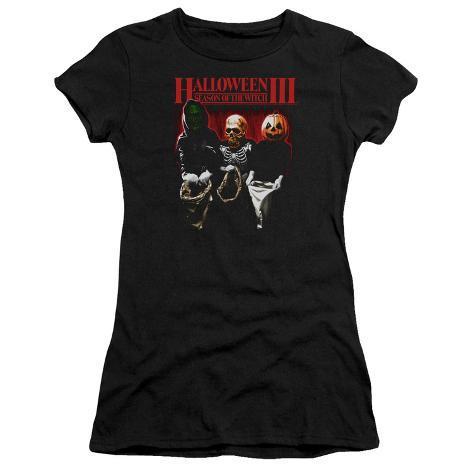 Juniors: Halloween II- Trick Or Treat Womens T-Shirts