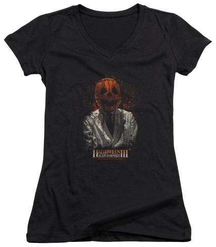 Juniors: Halloween III - H3 Scientist V-Neck Womens V-Necks