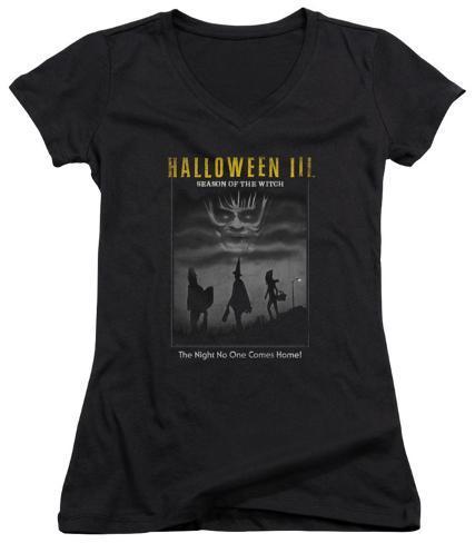 Juniors: Halloween III - Kids Poster V-Neck Womens V-Necks