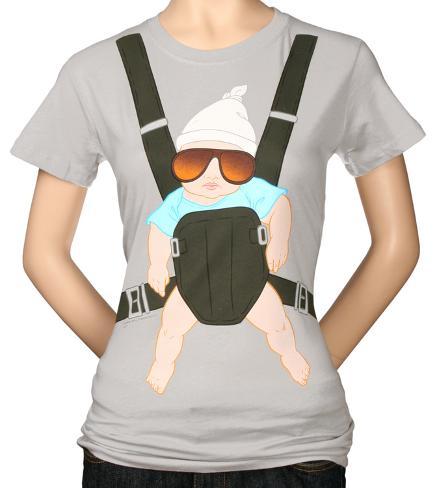 Juniors: Hangover -  Baby Bjorn Womens T-Shirts