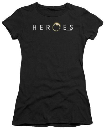 Juniors: Heroes-Logo Juniors (Slim) T-Shirt