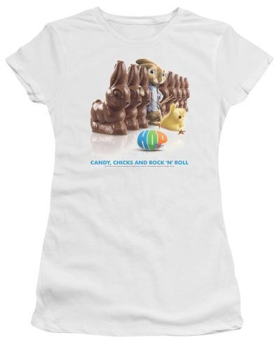 Juniors: Hop - Rock n' Roll Juniors (Slim) T-Shirt