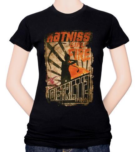 Juniors: Hunger Games - Girl of Fire Camiseta