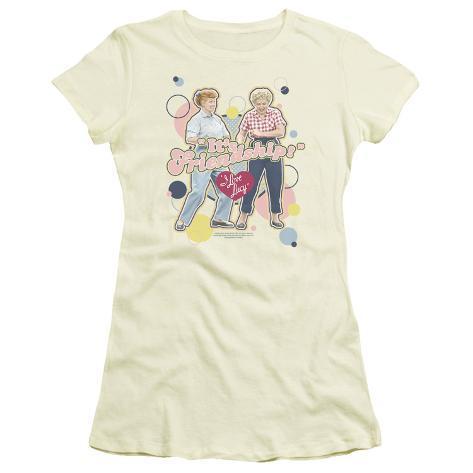 Juniors: I Love Lucy - It's Friendship Womens T-Shirts