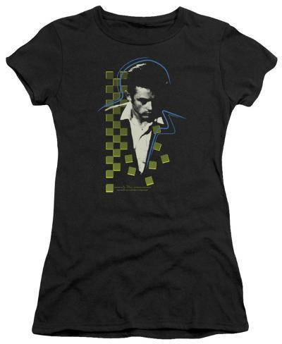 Juniors: James Dean - Checkered Darkness Womens T-Shirts
