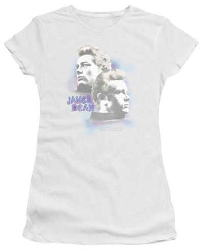 Juniors: James Dean - Pastel Charmer Womens T-Shirts