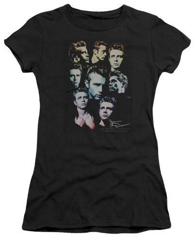 Juniors: James Dean - The Sweater Series Womens T-Shirts