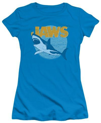 Juniors: Jaws - Day Glow Womens T-Shirts