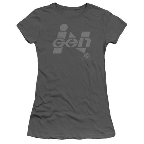 Juniors: Jurassic Park - Ingen Logo Womens T-Shirts