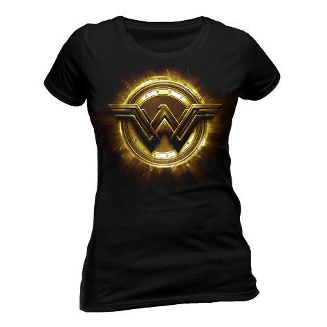 Juniors: Justice League, film - simbolo di Wonder Woman T-shirt da donna