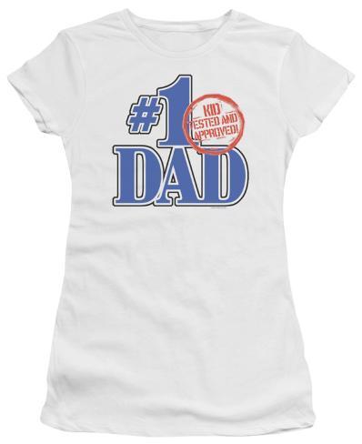 Juniors: Kid Tested Womens T-Shirts