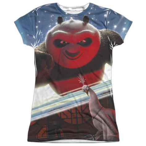 Juniors kung fu panda epic jumping t shirt da donna con for Attack of the 50 foot woman t shirt