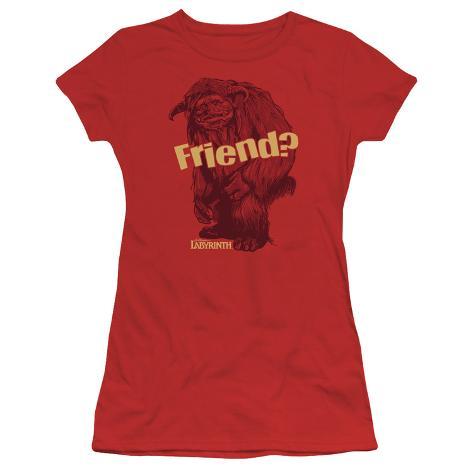 Juniors: Labyrinth-Ludo Friend Womens T-Shirts