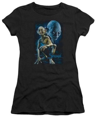 Juniors: Lord of the Rings - Smeagol Womens T-Shirts