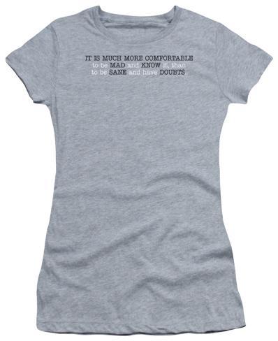 Juniors: Mad And Know It Juniors (Slim) T-Shirt