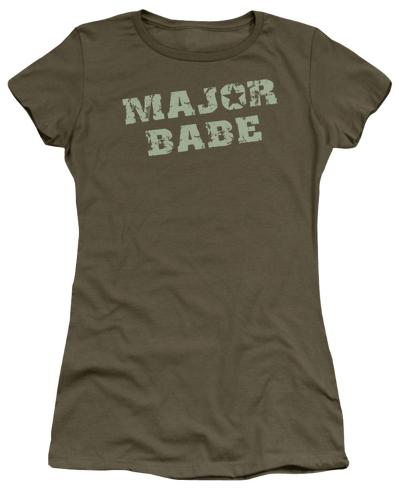 Juniors: Major Babe Juniors (Slim) T-Shirt