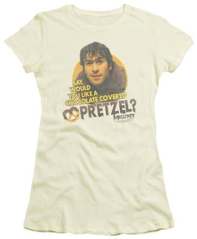 Juniors: Mallrats - Pretzels Womens T-Shirts
