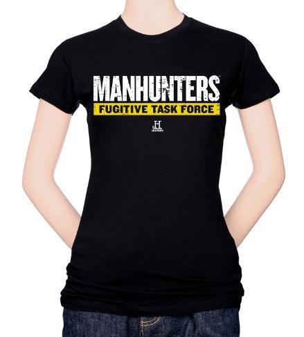 Juniors: Manhunters-Logo T-Shirt
