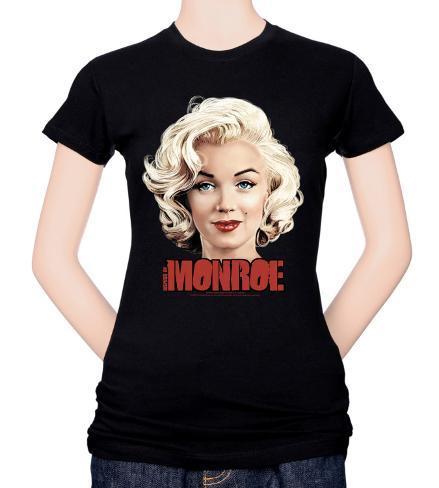 Juniors: Marilyn Monroe-Comic T-Shirt