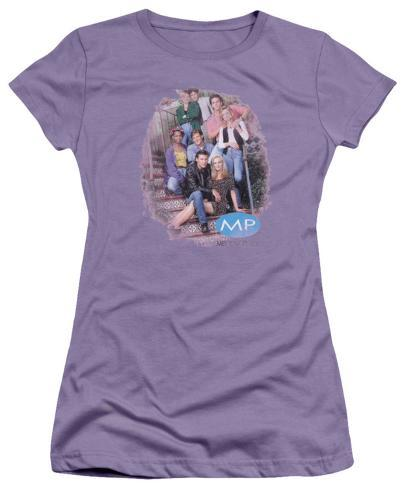 Juniors: Melrose Place - Original Cast Distressed Womens T-Shirts