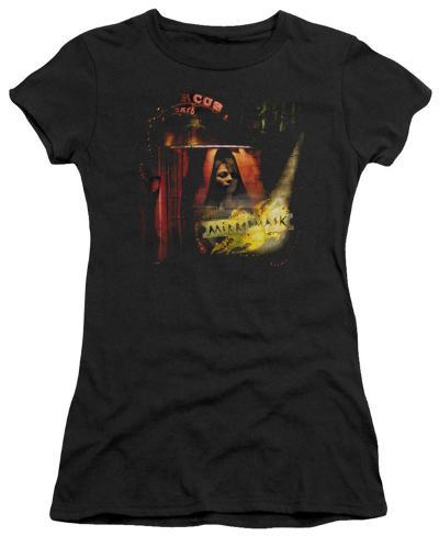 Juniors: Mirror Mask-Big Top Poster Womens T-Shirts