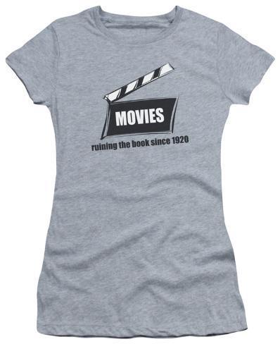 Juniors: Movies Womens T-Shirts