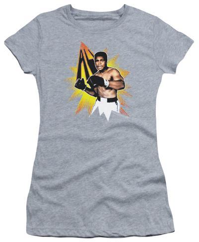 Juniors: Muhammad Ali - Power Punch Juniors (Slim) T-Shirt
