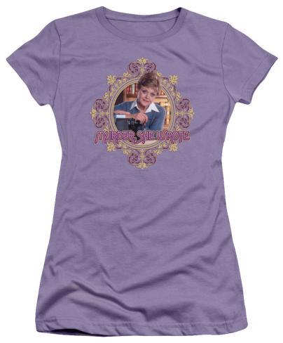 Juniors: Murder She Wrote-Jessica Womens T-Shirts