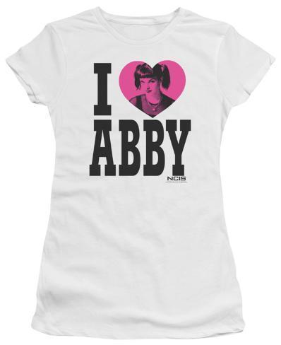 Juniors: NCIS-I Heart Abby Womens T-Shirts
