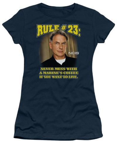 Juniors: NCIS-Rule 23 Womens T-Shirts